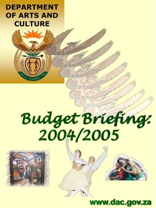 Budget Briefing: 2004/2005