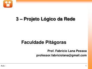 Faculdade Pitágoras Prof. Fabrício Lana Pessoa professor.fabriciolana@gmail