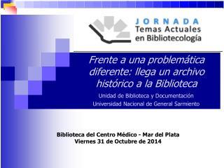 El Archivo del Movimiento de Ligas Agrarias .