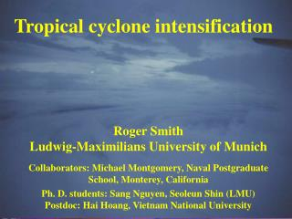 Tropical cyclone intensification