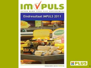 Eindresultaat IMPULS 2011