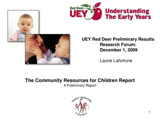 The Community Resources for Children Report A Preliminary Report
