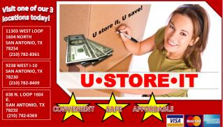 U store it, U save!