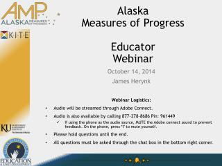 Alaska  Measures of Progress Educator Webinar