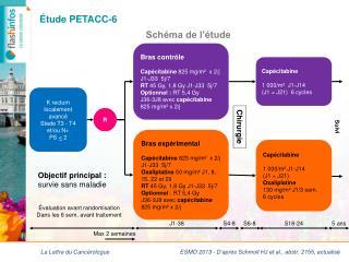 Étude PETACC-6