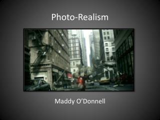 Photo-Realism