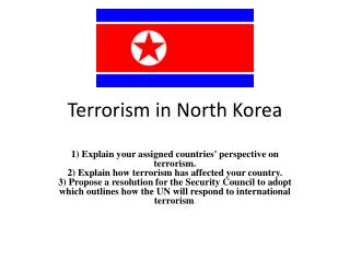 Terrorism in North Korea