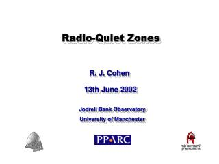 Radio-Quiet Zones