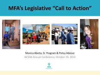 "MFA's Legislative ""Call to Action"""