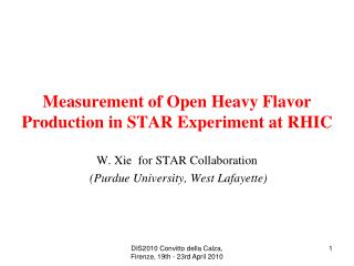 Measurement of Open Heavy Flavor Production in STAR Experiment at RHIC