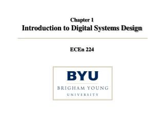 Chapter 1 Introduction to Digital Systems Design