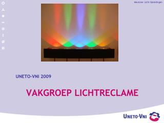 Vakgroep Lichtreclame