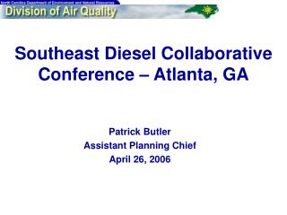Southeast Diesel Collaborative Conference – Atlanta, GA