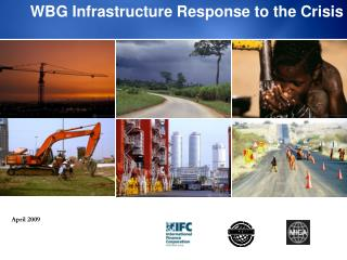 WBG Infrastructure Response to the Crisis