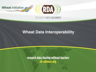 Wheat Data Interoperability