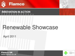Renewable Showcase