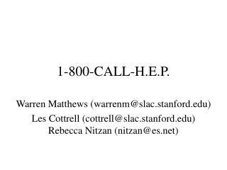 1-800-CALL-H.E.P.