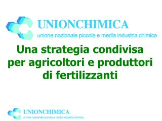Una strategia condivisa per agricoltori e produttori di fertilizzanti