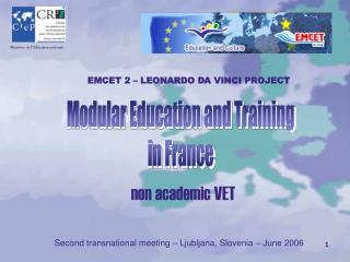 Modular Education and Training in France
