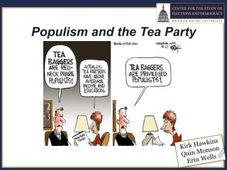 Populism and the Tea Party