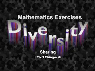 Mathematics Exercises