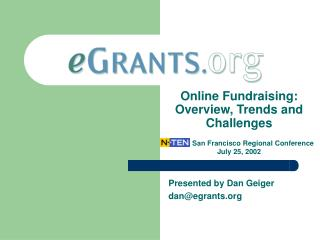 Online Fundraising: Overview, Trends and Challenges