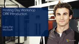 Hosting Day Workshop ORK Introduction