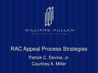 RAC Appeal Process Strategies