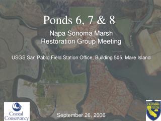 Ponds 6, 7 & 8