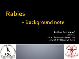 Rabies 		-  Background note