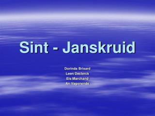 Sint - Janskruid