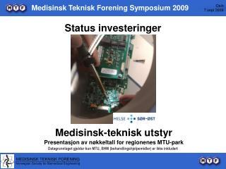Medisinsk Teknisk Forening Symposium 2009