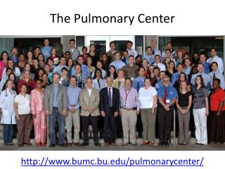 The Pulmonary Center
