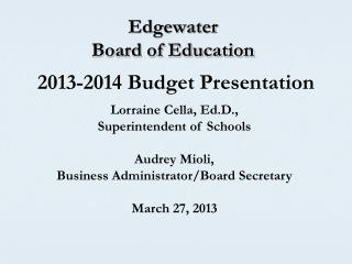 Edgewater  Board of Education