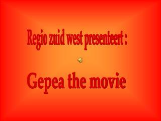 Regio zuid west presenteert :