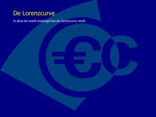 De Lorenzcurve