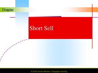 Short Sell