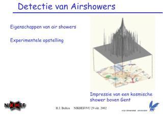 Detectie van Airshowers