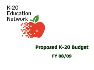 Proposed K-20 Budget