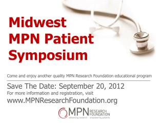 Midwest  MPN Patient Symposium