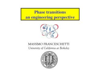 MASSIMO FRANCESCHETTI University of California at Berkeley