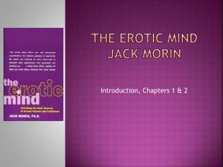 The erotic mind  jack morin