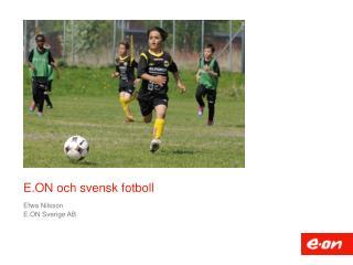 E.ON och svensk fotboll