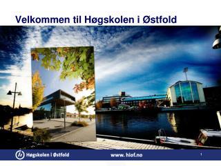 Velkommen til Høgskolen i Østfold