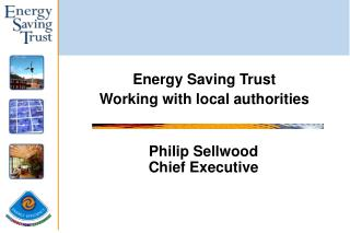 Philip Sellwood Chief Executive