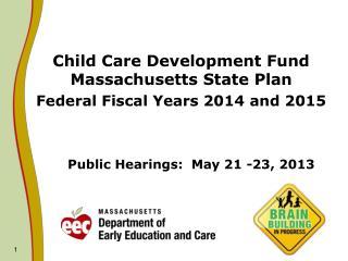Public Hearings:  May 21 -23, 2013