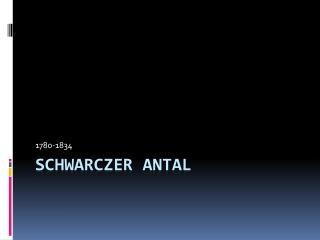 Schwarczer  Antal