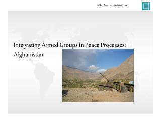 Integrating Armed Groups in Peace Processes:   Afghanistan