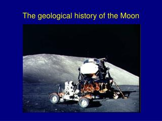 The geological history of the Moon