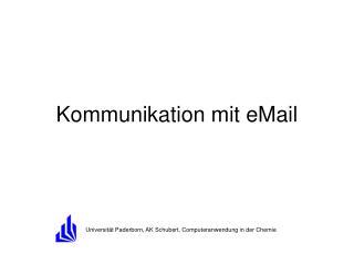 Kommunikation mit eMail